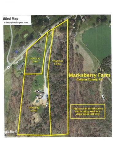 5.48 Acres Ky Hwy 16, Glencoe, KY 41046 (MLS #546074) :: Mike Parker Real Estate LLC