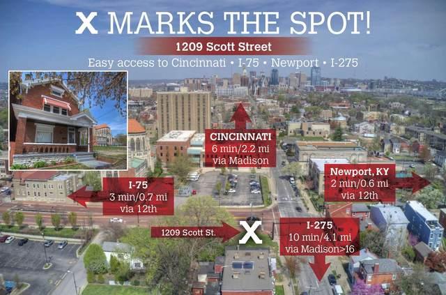 1209 Scott Street, Covington, KY 41011 (MLS #547508) :: Apex Group