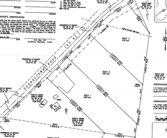 Tract 3 Us Hwy 62W, Cynthiana, KY 41031 (MLS #547610) :: Caldwell Group