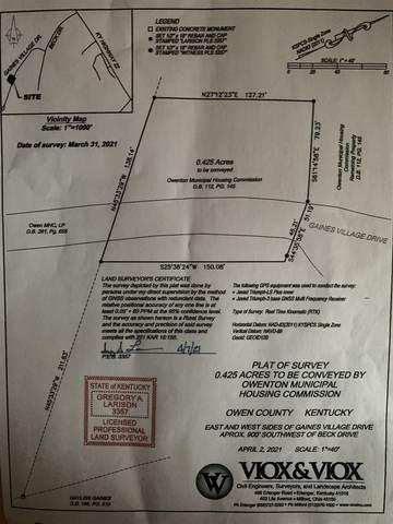 0 Beck Street, Owenton, KY 40325 (MLS #547770) :: Mike Parker Real Estate LLC
