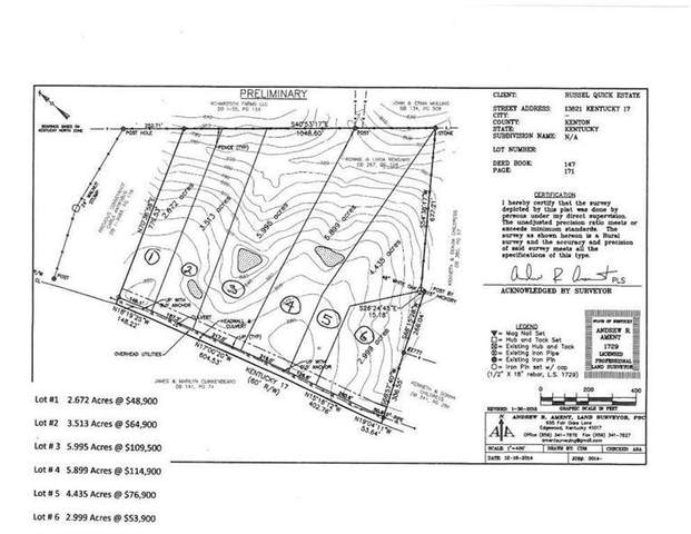 13821,lot 3 Madison Pike Lot #3, Morning View, KY 41063 (MLS #553803) :: Caldwell Group