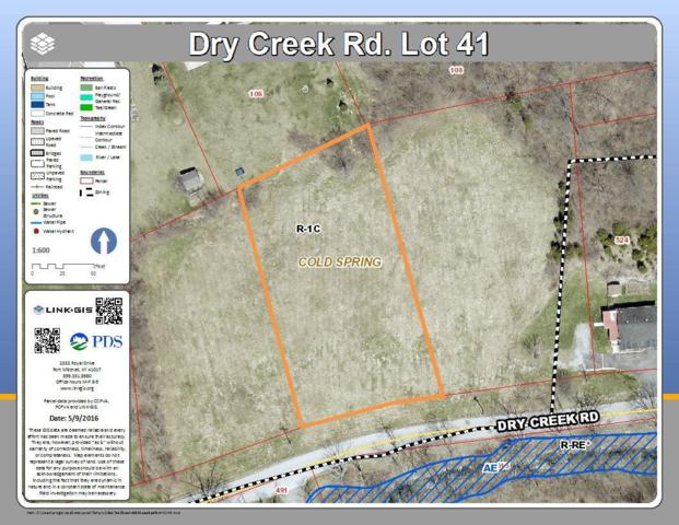 0 Dry Creek Road Lot41, Cold Spring, KY 41076 (MLS #411426) :: Mike Parker Real Estate LLC