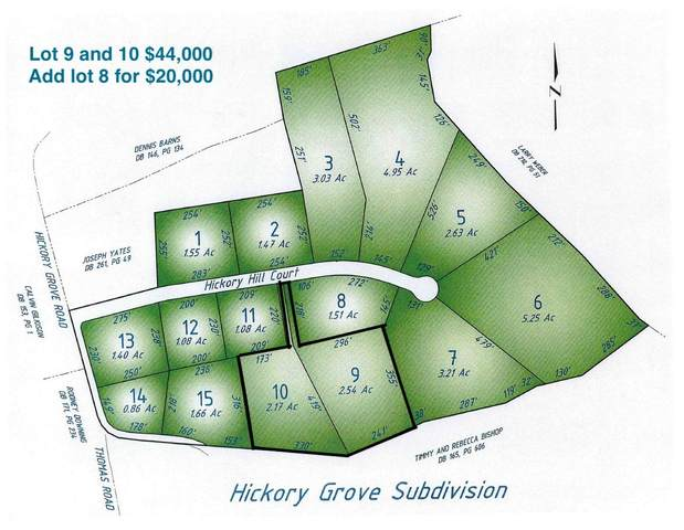 lot 8,9 and 10 Hickory Hill Court, Foster, KY 41043 (MLS #546776) :: Mike Parker Real Estate LLC
