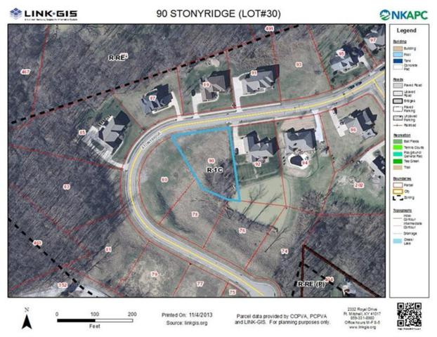 90 Stonyridge Drive Lot30, Cold Spring, KY 41076 (MLS #423668) :: Mike Parker Real Estate LLC