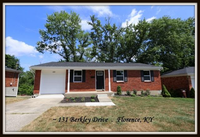 131 Berkley Drive, Florence, KY 41042 (MLS #517095) :: Mike Parker Real Estate LLC