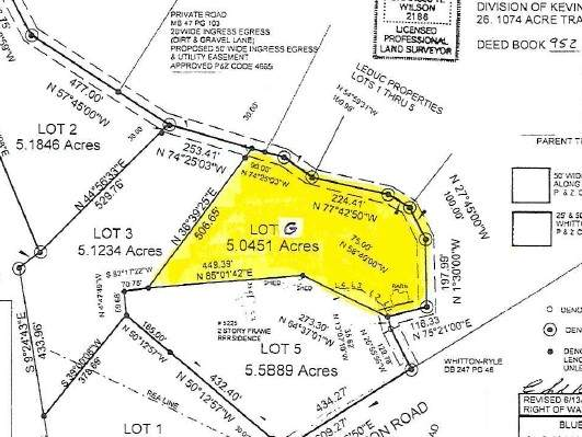 Lot G Whitton Road, Petersburg, KY 41080 (MLS #543830) :: Mike Parker Real Estate LLC