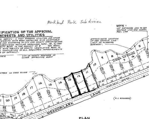 Lot 11, 12, 13 Meadow Lark Lane, Warsaw, KY 41095 (MLS #548474) :: Mike Parker Real Estate LLC