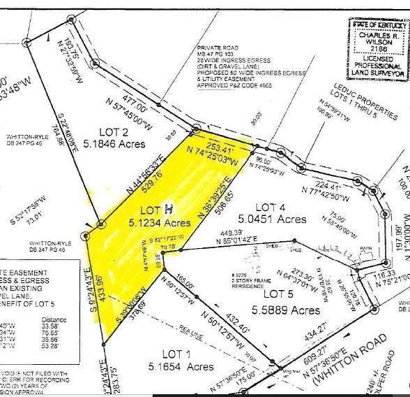 Lot 3 Whitton Road, Petersburg, KY 41080 (MLS #553359) :: Parker Real Estate Group