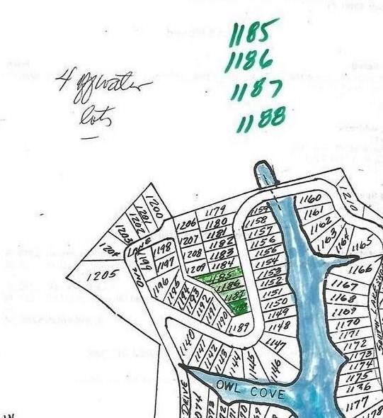 445 Elk Lake Resort Rd #1185-1188, Owenton, KY 40359 (MLS #538107) :: Mike Parker Real Estate LLC