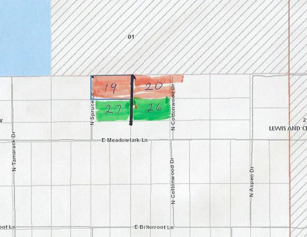 Lot 26-27 N Cottonwood Drive, Augusta, MT 59410 (MLS #21900532) :: Performance Real Estate