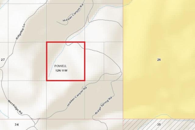 Lot 123 Hidden Canyon Road, Helmville, MT 59843 (MLS #21902961) :: Brett Kelly Group, Performance Real Estate