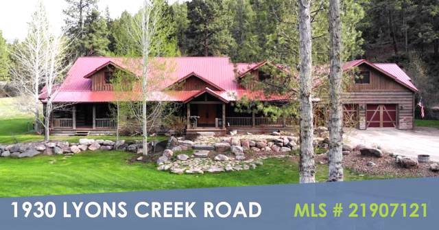 1930 Lyons Creek Road, Wolf Creek, MT 59648 (MLS #21917915) :: Andy O Realty Group