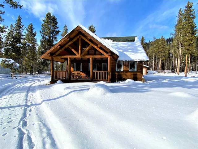 2804 E Fork Road, Sula, MT 59871 (MLS #22002116) :: Whitefish Escapes Realty