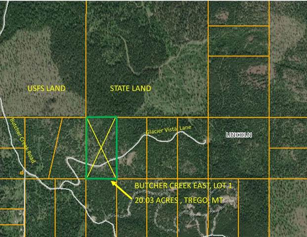 Lot 1 Butcher Creek Road East, Trego, MT 59934 (MLS #22009727) :: Dahlquist Realtors