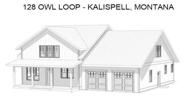 128 Owl Loop, Kalispell, MT 59901 (MLS #22104790) :: Whitefish Escapes Realty