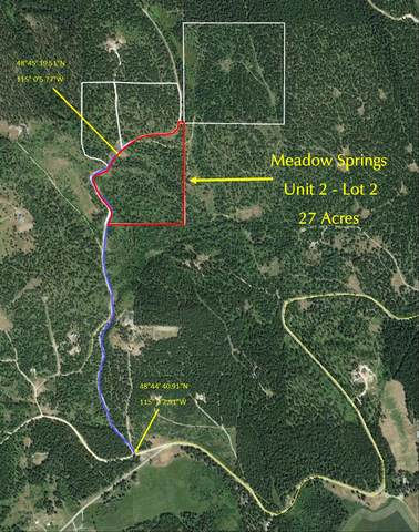 Lot 2 Meadow Springs Subdivision, Fortine, MT 59918 (MLS #22107254) :: Peak Property Advisors