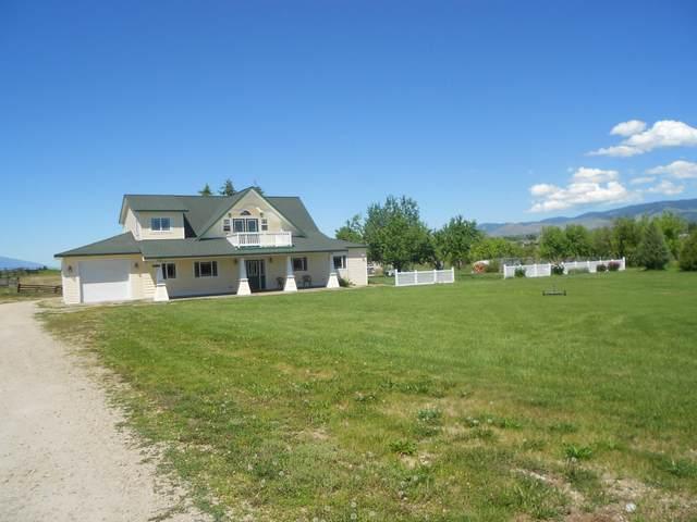 358 Hamilton Heights Road, Corvallis, MT 59828 (MLS #22110617) :: Peak Property Advisors