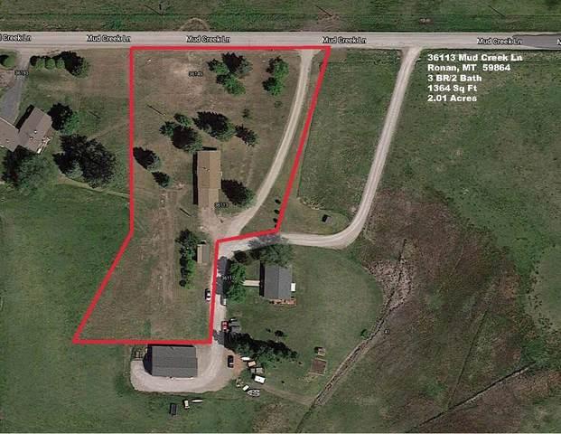 36113 Mud Creek Lane, Ronan, MT 59864 (MLS #22112093) :: Dahlquist Realtors