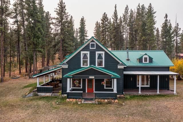 28550 Blixit Creek Road, Potomac, MT 59823 (MLS #22114752) :: Peak Property Advisors