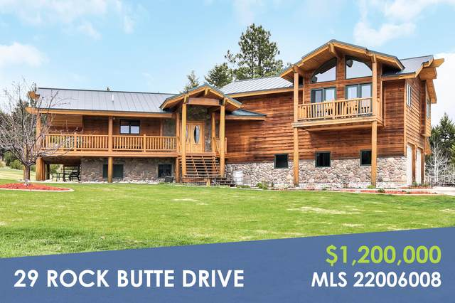 29 Rock Butte Drive, Clancy, MT 59634 (MLS #22006008) :: Andy O Realty Group