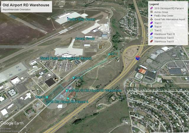 Tract 3 Old Airport Road, Great Falls, MT 59404 (MLS #22017115) :: Andy O Realty Group