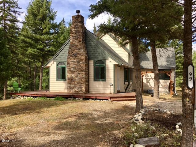 99 Mount Creek Drive, Kila, MT 59920 (MLS #21711684) :: Brett Kelly Group, Performance Real Estate