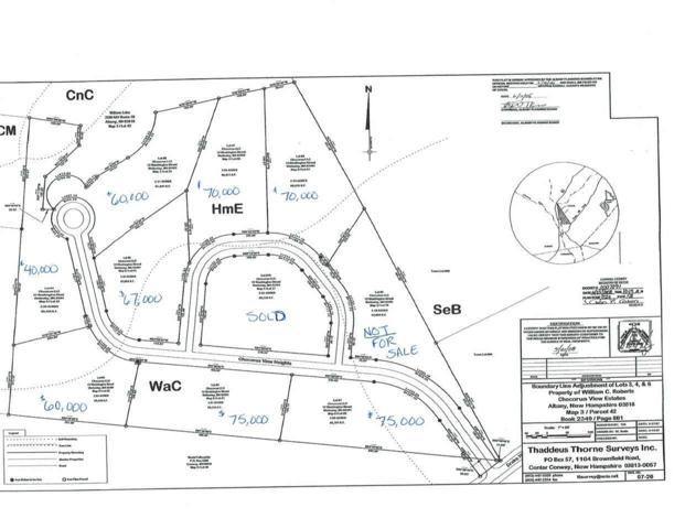 Lot 2 Chocorua View Heights, Albany, NH 03818 (MLS #4630254) :: Keller Williams Coastal Realty