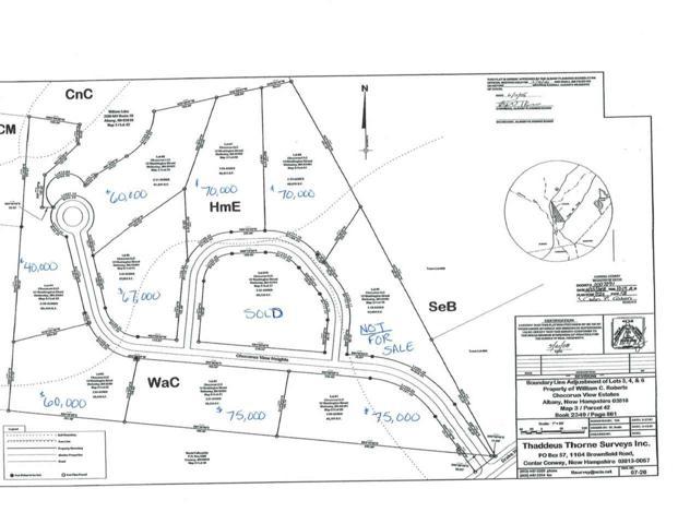 Lot 3 Chocorua View Heights, Albany, NH 03818 (MLS #4630255) :: Keller Williams Coastal Realty