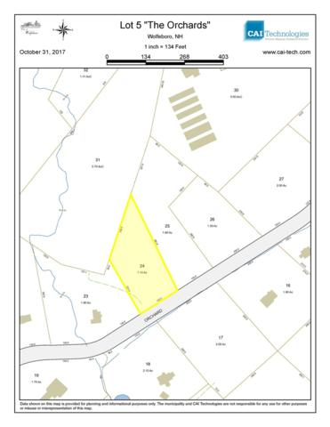Lot 5 Orchards Road #5, Wolfeboro, NH 03894 (MLS #4666221) :: Keller Williams Coastal Realty