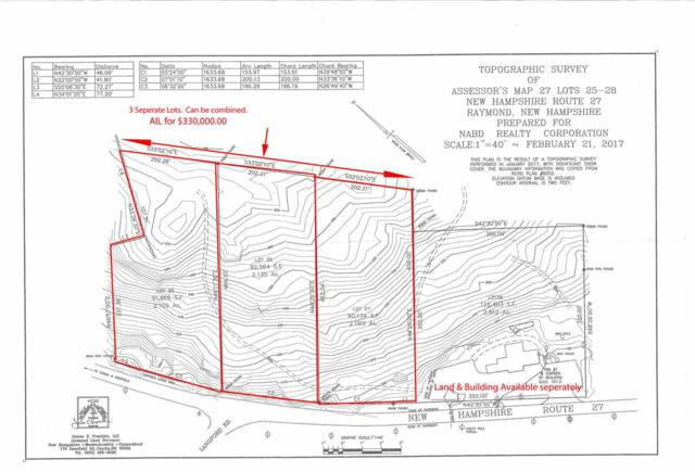 172 Route 27 Highway 25, 26 27, Raymond, NH 03077 (MLS #4671315) :: Keller Williams Coastal Realty
