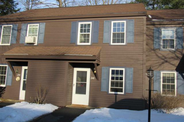 240 Twin Oaks Terrace #240, South Burlington, VT 05403 (MLS #4686934) :: The Gardner Group