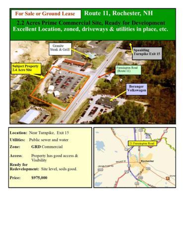 21 Farmington Road, Rochester, NH 03867 (MLS #4697904) :: Keller Williams Coastal Realty