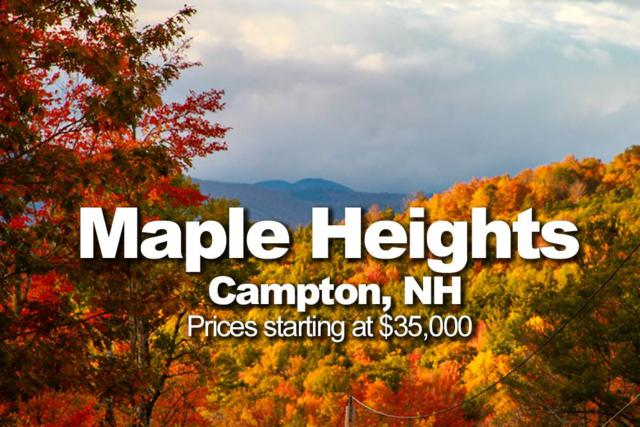 250 9-3 Perch Pond Road Lot #3, Campton, NH 03223 (MLS #4699084) :: The Hammond Team
