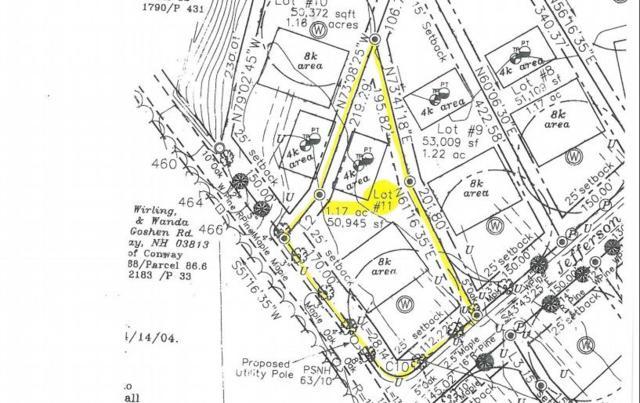 Lot 11 Jefferson Road #11, Conway, NH 03818 (MLS #4702229) :: The Hammond Team
