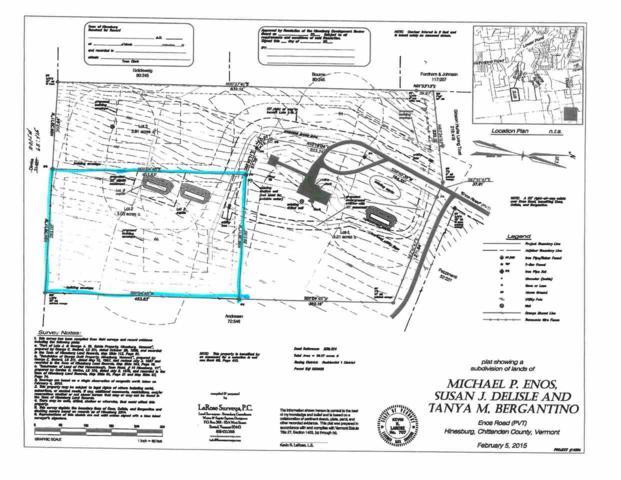 385 Enos Road Lot #2, Hinesburg, VT 05461 (MLS #4703342) :: The Gardner Group
