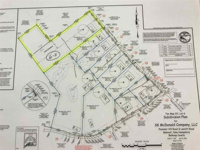 Plummer Hill (Lot 6-11) Road Lot #6-11, Belmont, NH 03220 (MLS #4710595) :: Lajoie Home Team at Keller Williams Realty