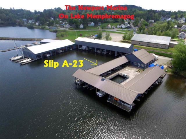197 Farrants Point (Slip A-23) A-23, Newport City, VT 05855 (MLS #4713027) :: The Gardner Group