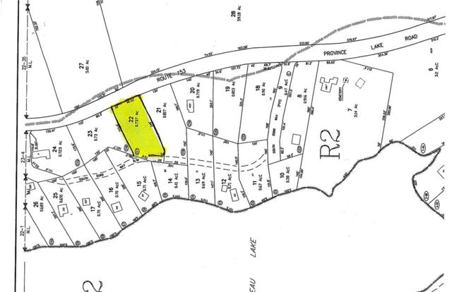 00 Province Lake Road Lot 22, Wakefield, NH 03872 (MLS #4717791) :: The Hammond Team