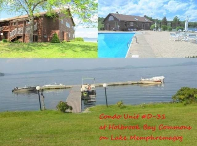 D-31   @ Holbrook Bay Commons D-31, Newport Town, VT 05857 (MLS #4736478) :: Hergenrother Realty Group Vermont