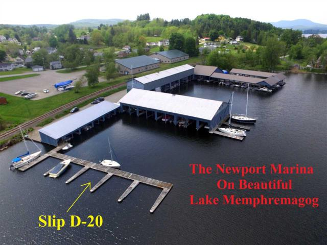 197 Farrants (Boat Slip D-20) Point D-20, Newport City, VT 05855 (MLS #4751708) :: Hergenrother Realty Group Vermont