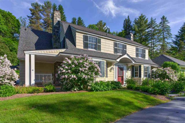 10 College Hill Road, Woodstock, VT 05091 (MLS #4759904) :: Hergenrother Realty Group Vermont
