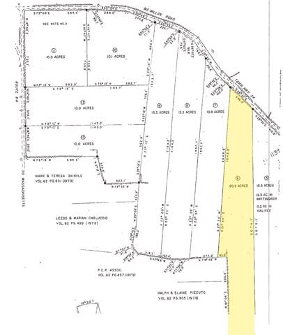 0 Mcmillan Road, Whitingham, VT 05361 (MLS #4778759) :: The Hammond Team