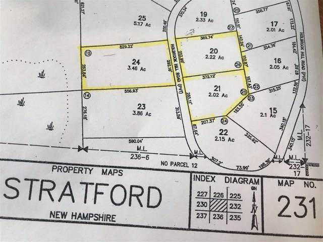 21 Holbrook Hill Road Survey Map Lot#, Stratford, NH 03590 (MLS #4780753) :: The Hammond Team