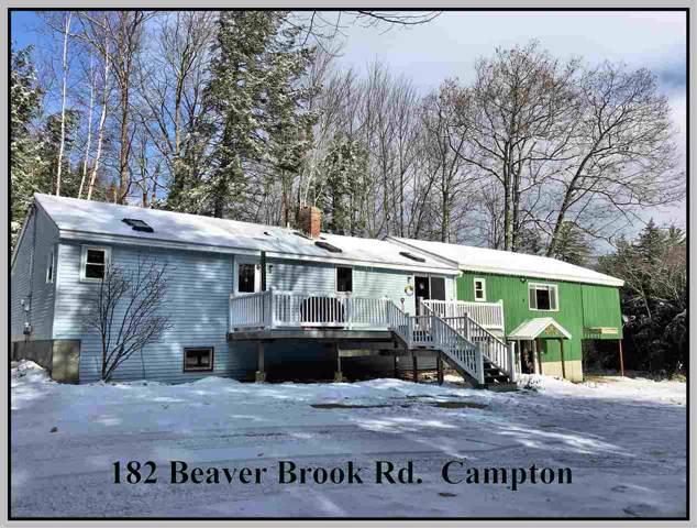 182 Beaver Brook Road, Campton, NH 03223 (MLS #4785346) :: Lajoie Home Team at Keller Williams Realty