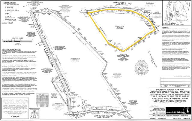 0 Amherst Road, Mont Vernon, NH 03057 (MLS #4786211) :: Keller Williams Coastal Realty