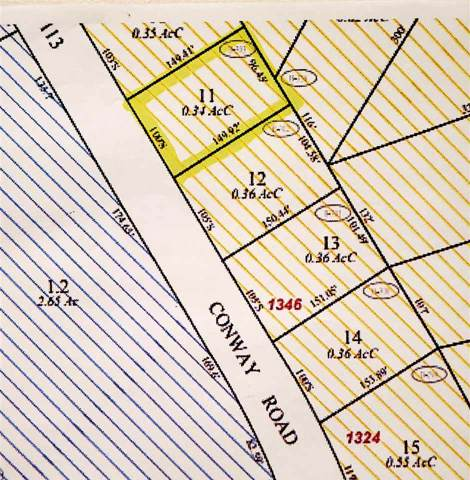 Map 110 Lot 11 Conway Road, Madison, NH 03849 (MLS #4787396) :: Hergenrother Realty Group Vermont