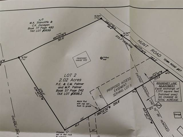 Lot 2 Hunt Road, New Haven, VT 05472 (MLS #4787514) :: The Hammond Team