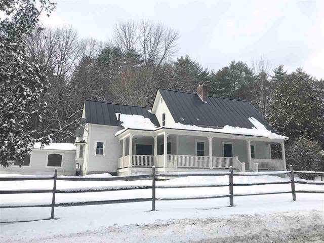 591 Goodrich Four Corners Road, Norwich, VT 05055 (MLS #4789498) :: Hergenrother Realty Group Vermont