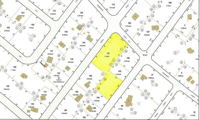 Map 121-181 Geneve Street, Moultonborough, NH 03254 (MLS #4794733) :: Signature Properties of Vermont