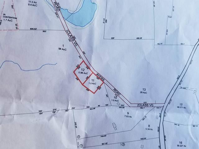 Lot 11 & 12 Ayers Road, Canterbury, NH 03224 (MLS #4794954) :: Team Tringali